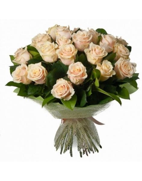 33 high elite cream roses: delivery of flowers in