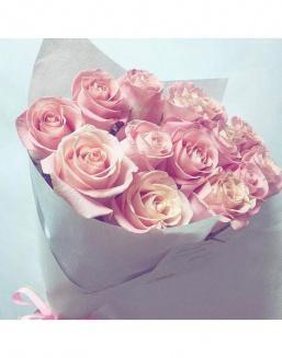 Bouquet of pink roses | Roses to mother